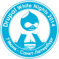 Logo Drupal White Nights